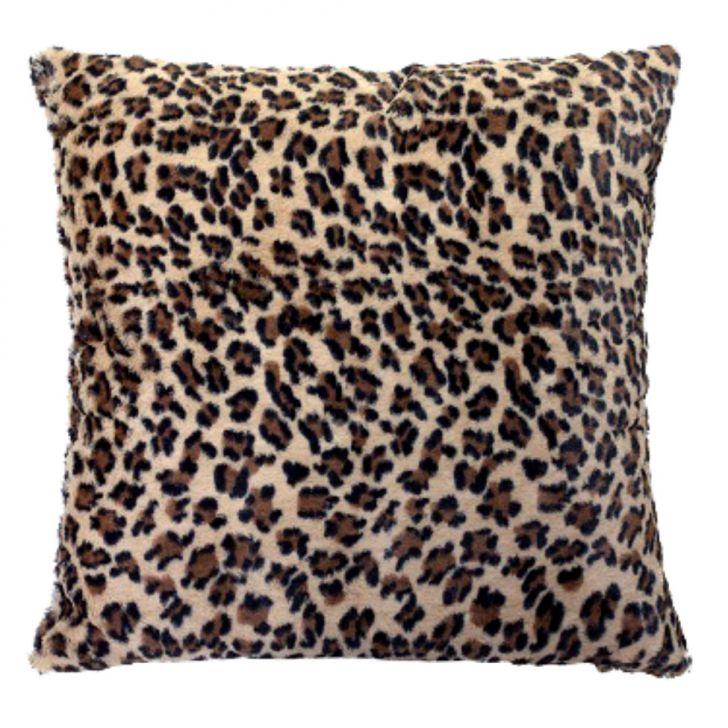 Capa para Almofada pele de Animal 60x60cm Onça Cod: AD714AC99XRWMOB