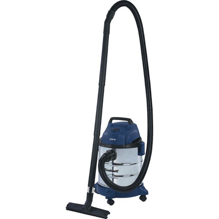 Aspirador de pó e líquido EINHELL, BT-VC 1250 S 1250W 127V Azul