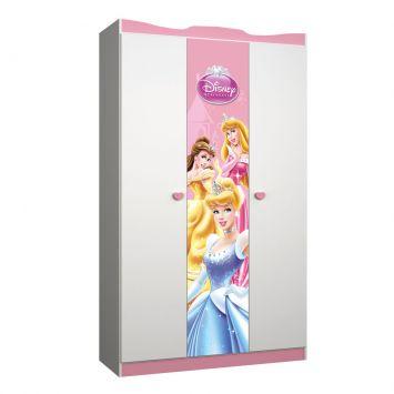 Guarda roupa infantil princesas happy 3 pt 2 gv branco pura magia