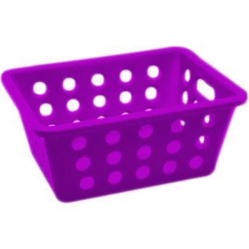 Cesta pequena small basket roxo 14 cm