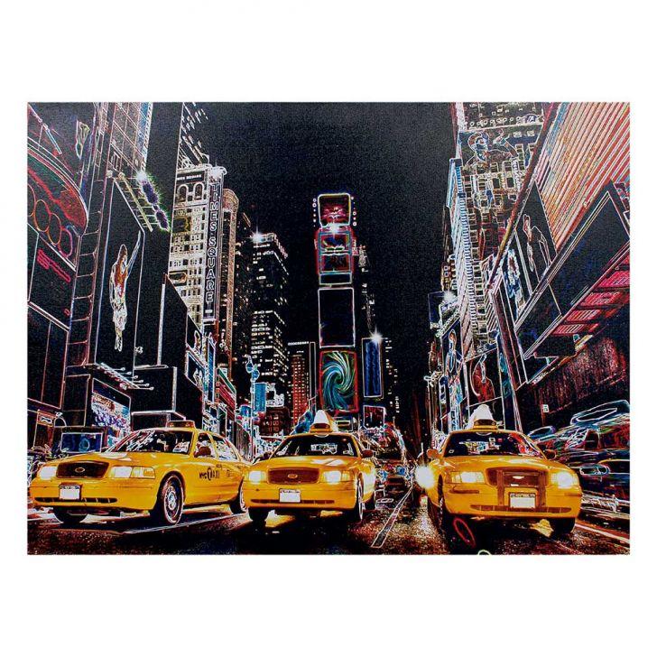 tela-com-leds-ny-3-taxis-60x80x3-amarelo-fullway