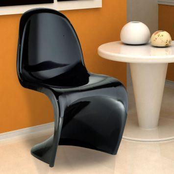 Cadeira panton preta