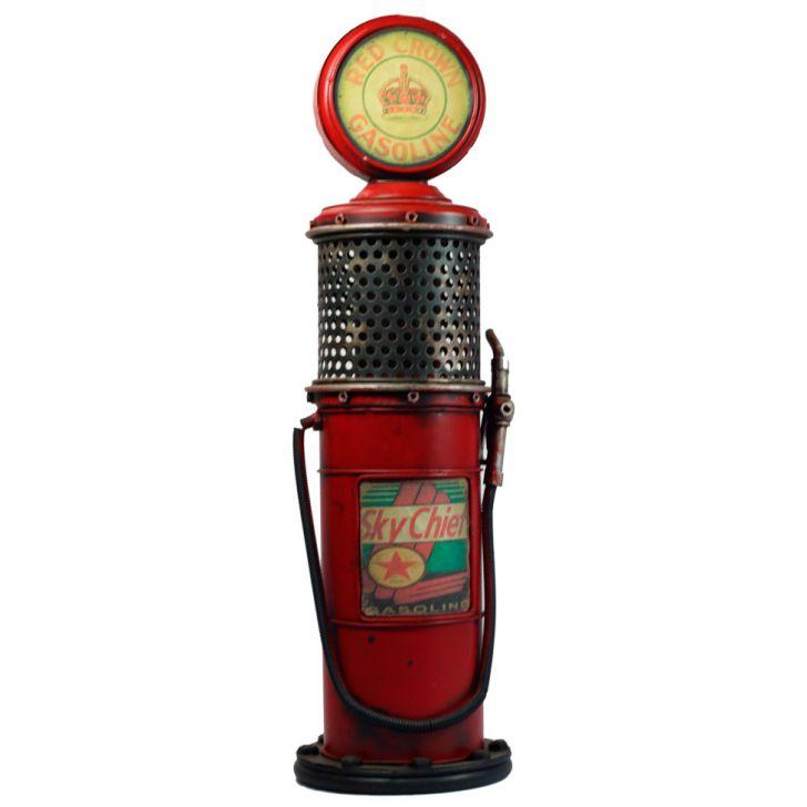 Mini Vintage Bomba De Gasolina M ZD2438 Vermelha Cod: ZU169AC29OGOMOB
