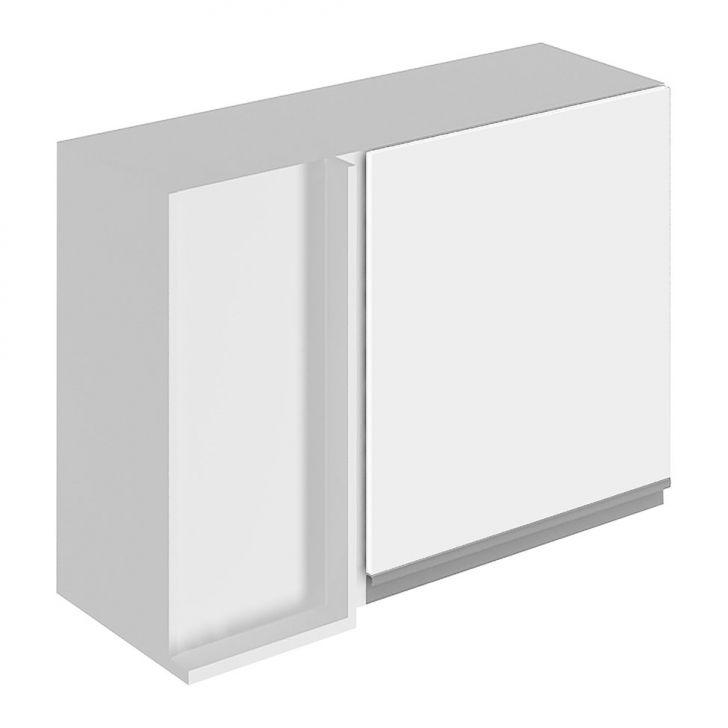 Armário Aéreo Canto Reto Direito G2575209 1 Porta Branco Glamy Cod: GL069CL09OSCMOB