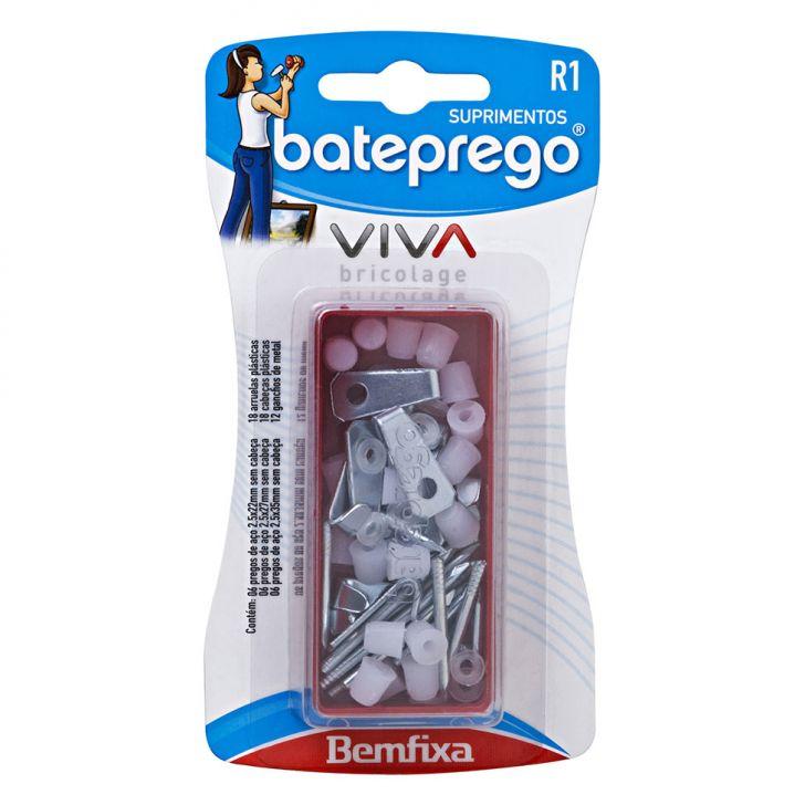 Kit Suprimentos R-1 Branco 66 peças Bateprego