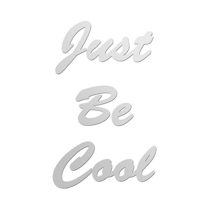 Espelho Decorativo Just Be Cool 70x50 My Sticker Cod: MY014AC88RKDMOB