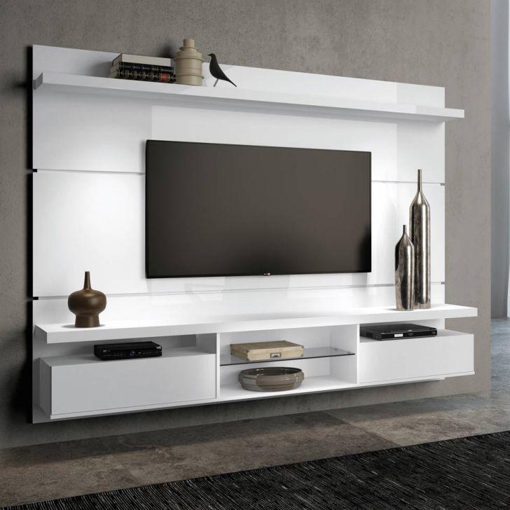 Painel para TV Livin 2.2 Branco Alto Brilho HB Móveis Cod: HB330RA68NOTMOB