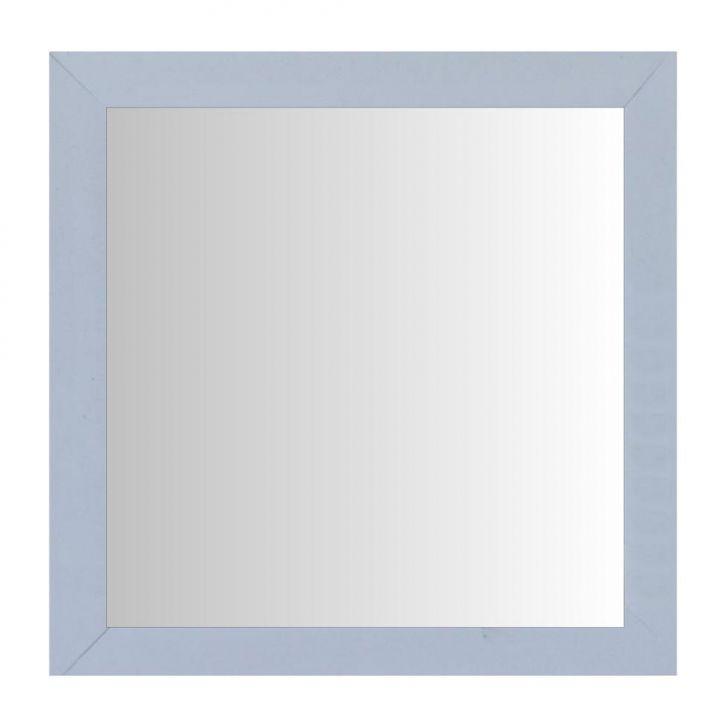 Espelho Moldura Madeira Lisa Raso 16289 Branco Art Shop