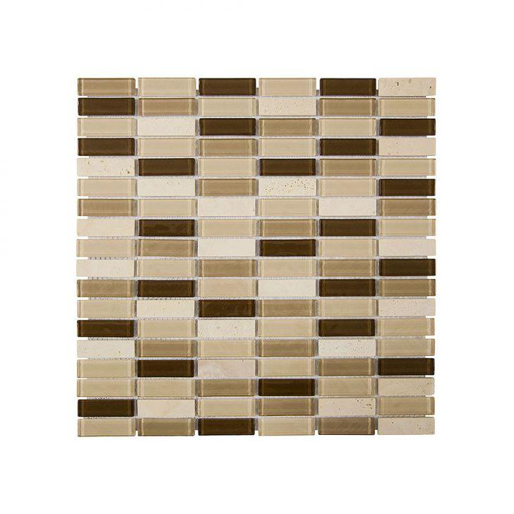 Placa De Pedra Com Vidro Colortil Pietra 09 Cod: CO674HI08OXRMOB