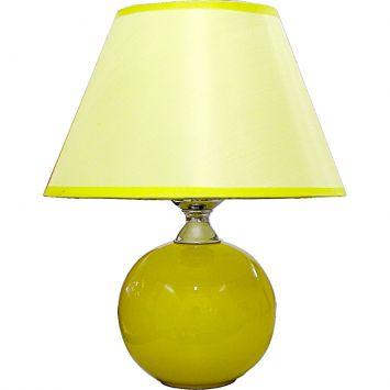 Abajur esfera amarelo m