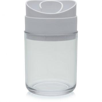 Porta escovas espiral branco 21 cm