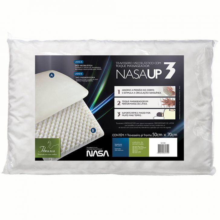 Travesseiro Nasa Up3 Fibrasca Cod: 7896630346150