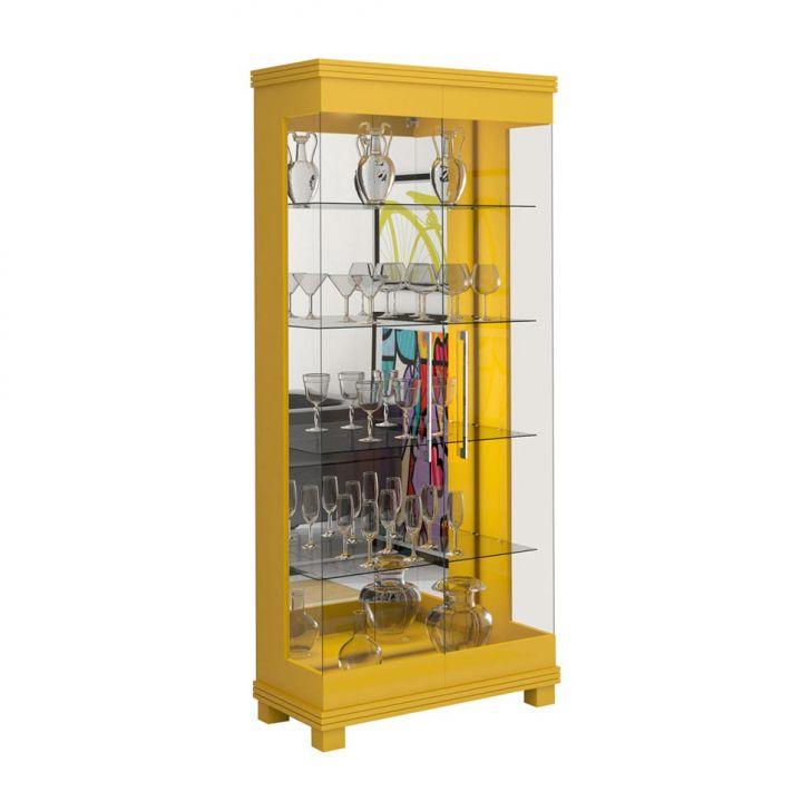Cristaleira Cristal Amarelo Cod: IM630CL77CDEMOB