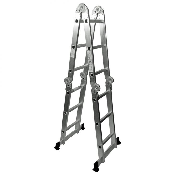 Escada Dobrável Multiuso Alumínio 3,40 M Cod: BE436AC67ZBSMOB