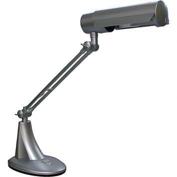 Luminaria de mesa focus e 27 max 20w cinza
