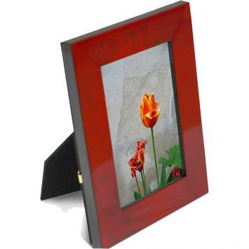 Porta retrato mdf 10x15 verm mesclado vermelho