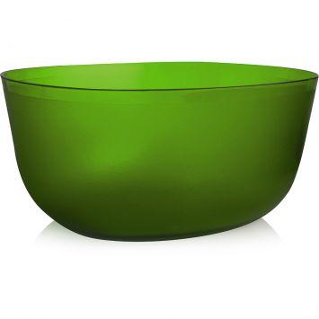 Saladeira elipse cristal verde 3 5 l