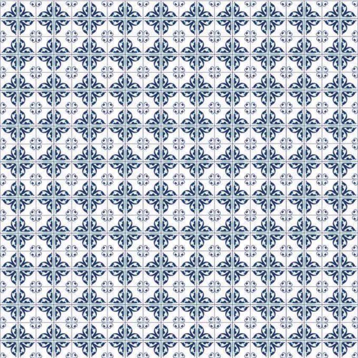 Adesivo de Parede Mini Azulejos Azuis 47x100 Cod: PA865AC37SLAMOB