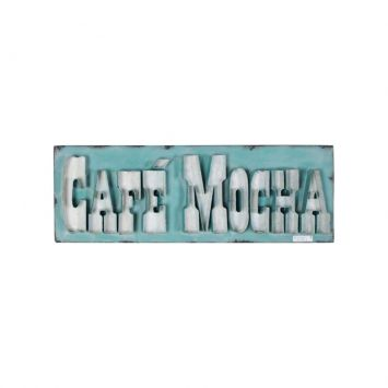 Placas Ferro Big Letters Café Mocha Verde Cod: UR559AC37VNUMOB