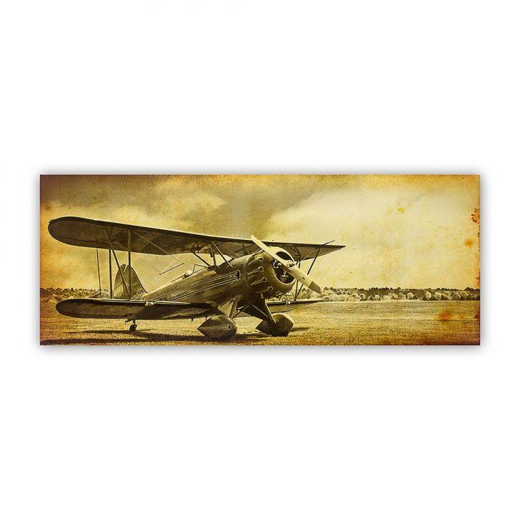 Tela Impressa Avião Paisagem Fullway 60x150x4 Cod: FU961AC37EBYMOB