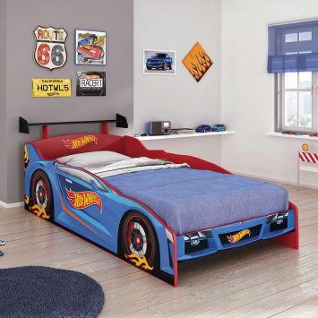 Cama Hot Wheels Plus - 5A Com Aerofolio Vermelho Mattel T4 Pura Magia Cod: PU077BE37DWCMOB