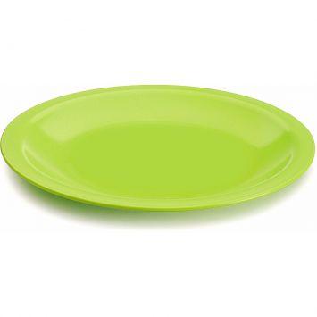 Prato lanche redondo verde 18 cm