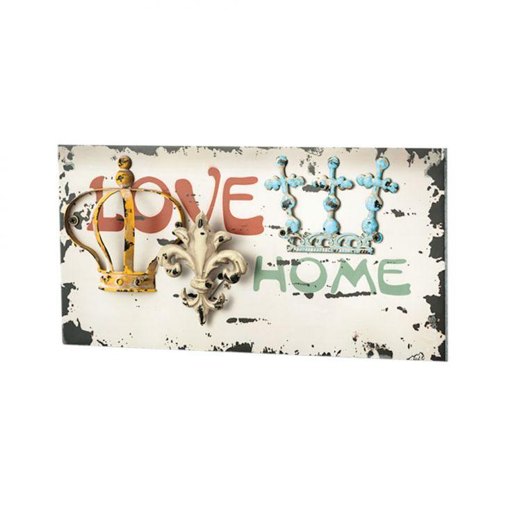 Quadro Love 42X21cm Lyor Classic Cod: LY618AC27HWIMOB