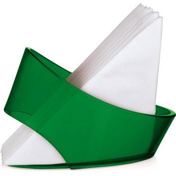 Porta guardanapos vitra verde 7 5 x 17 x 12 cm