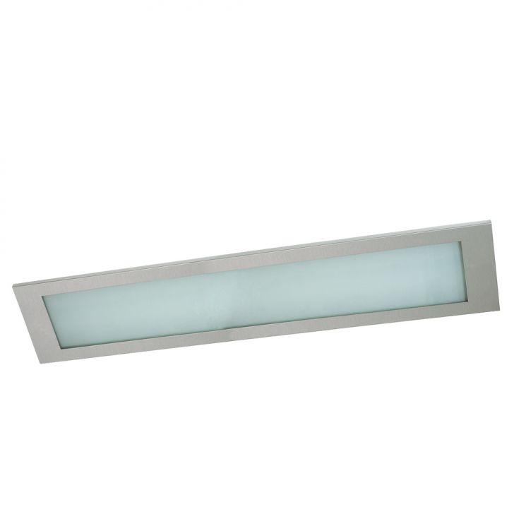 Luminária de Teto Embutido Rooflight LTE 3X40 Escovado 3 Lampâdas 40W Cod: PA229LI36QBRMOB