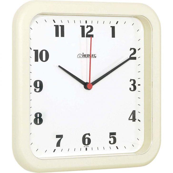 Relógio de Parede Quartz Marfim 62x26x4 Cod: HE285AC36HNR