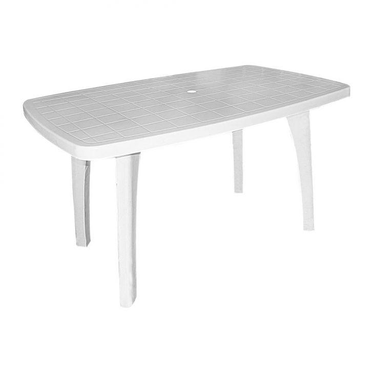 Mesa pl stico pre os no buscap for Mesas de jardin de plastico