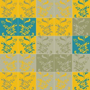 Ladrilho 2D Impressão Arbustos 2 20x20 Cod: HA683AC95XYYMOB