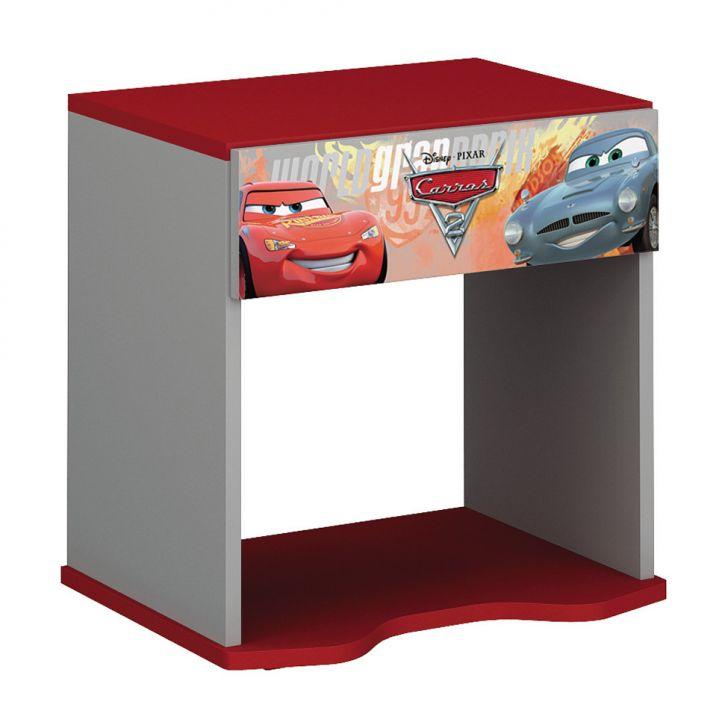 Criado - Mudo Infantil Carros Disney Star - 5A Cinza e Vermelho T2 Pura Magia Cod: PU077CL45DRYMOB