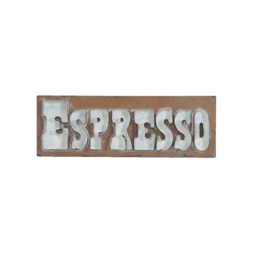 Placas Ferro Big Letters Espresso Marrom Cod: UR559AC35VNWMOB