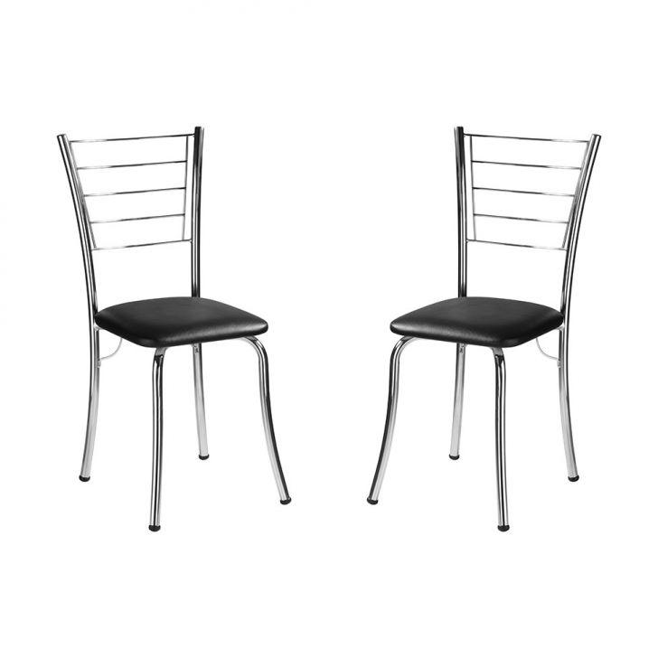 Conjunto 2 Cadeiras I CA150 Preta