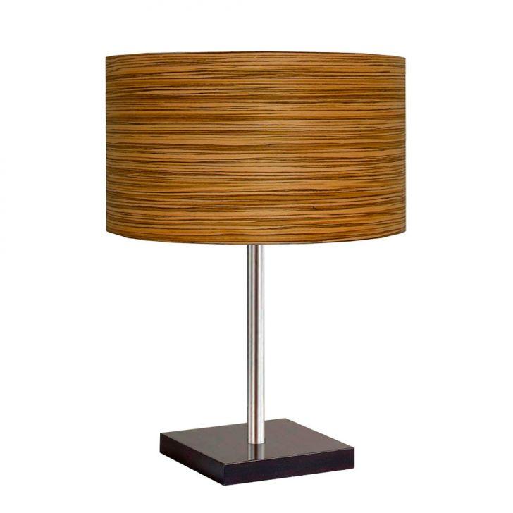 Abajur Wood Redondo 60cm Madei