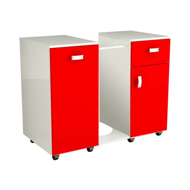 Gabinete Due Vermelho Cod: 7897012903640