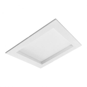 Plafon Quadrado Embutida LED Ângulo De 90 VLED8190 Branco Cod: VI874LI14LURMOB
