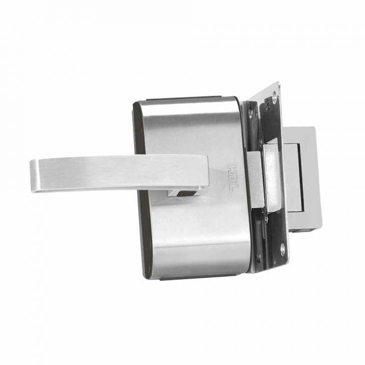 Fechadura Porta de Vidro 12V 1 Furo Cod: HD251HI73WQKMOB