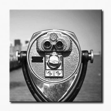 Quadro Tourist Binoculars 100x100 GrupoLush Cod: GR520AC63YUIMOB