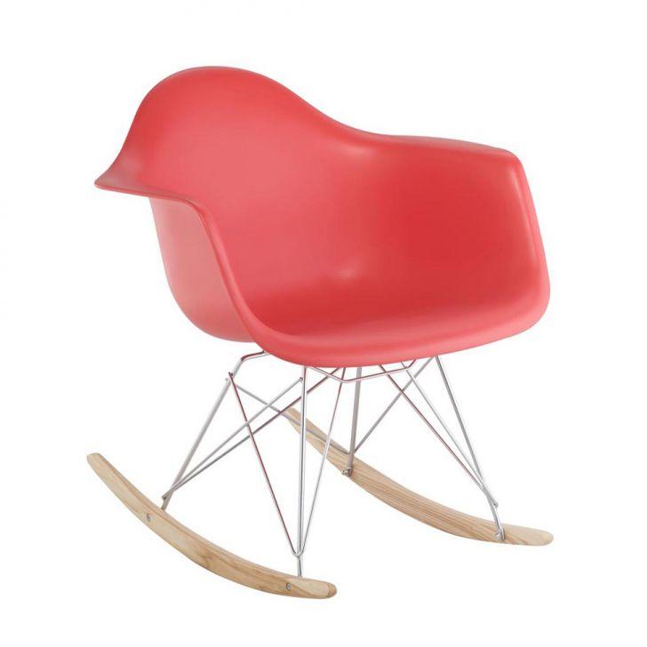 Cadeira Eiffel Balanço Com Braço Vermelha Rivatti Cod: