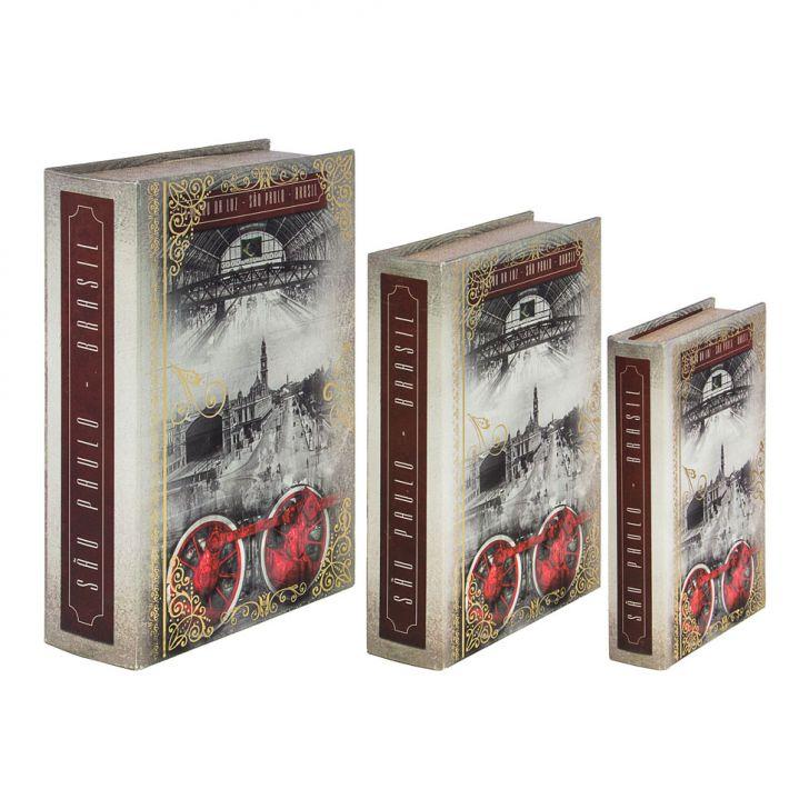 conjunto-3-caixas-organizadora-book-box-sao-paulo-estacao-luz-cinza-oldway