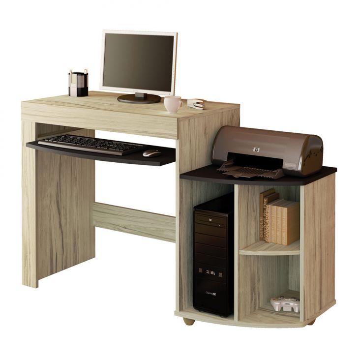 Mesa para Computador ON LINE Capuccino com Ebano Artely Cod: AR327TA62BCBMOB