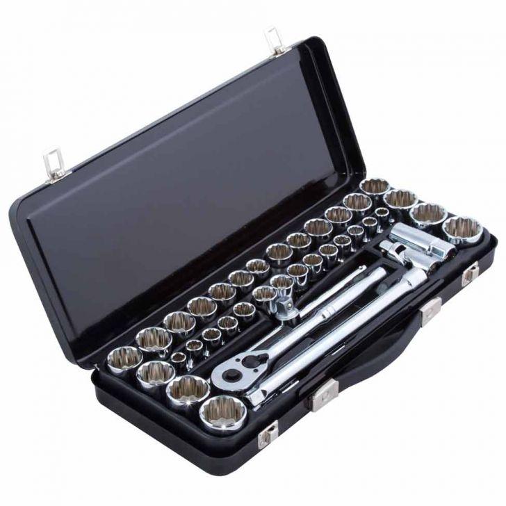 Kit Ferramentas Mecanicas com 40 peças 1 / 2 Stanley Cod: ST721HI62ZAJMOB