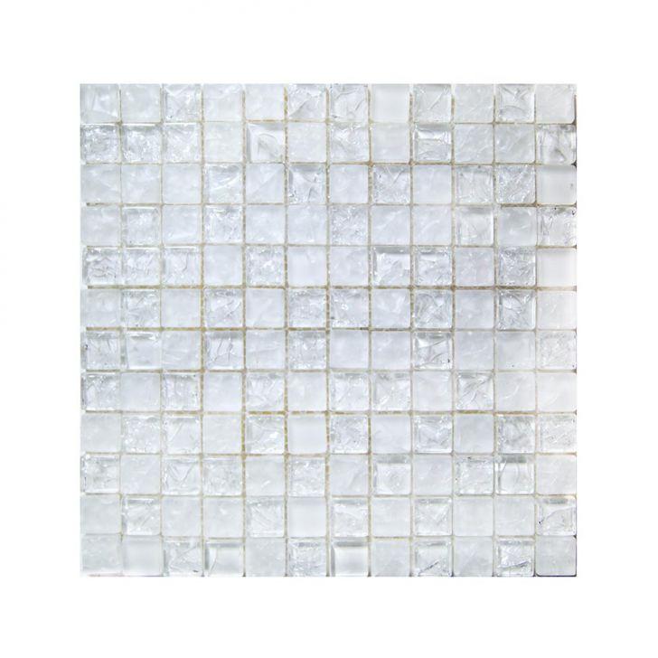 Placa De De Vidro Cristal Ice 15 Branco Cod: CO674HI22VRDMOB