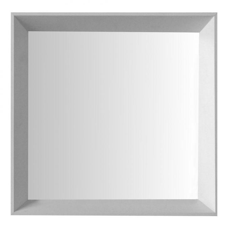 Espelho Moldura Madeira Lisa Fundo 16317 Branco Art Shop