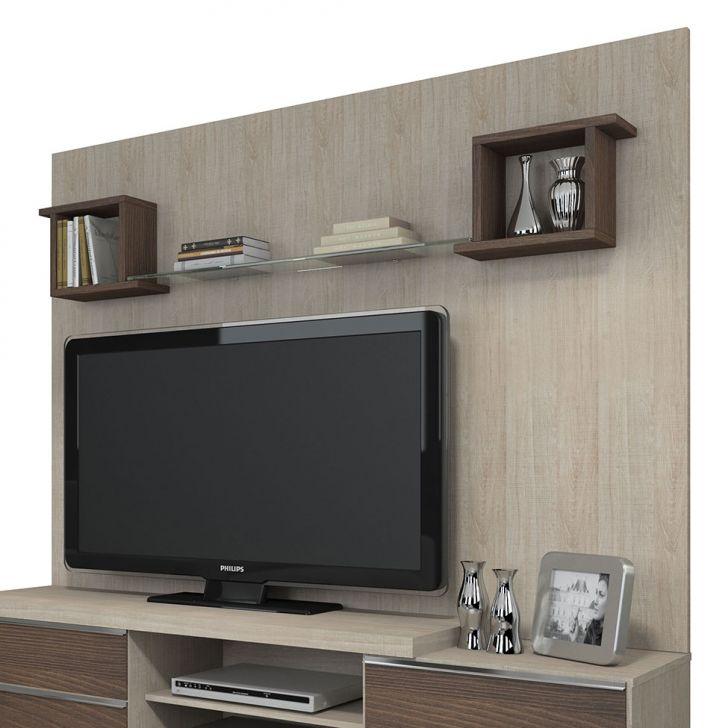 Painel Para Tv Karen 1800 Santana & Rovere Marsala KNR Móveis Cod: KN099RA02DURMOB