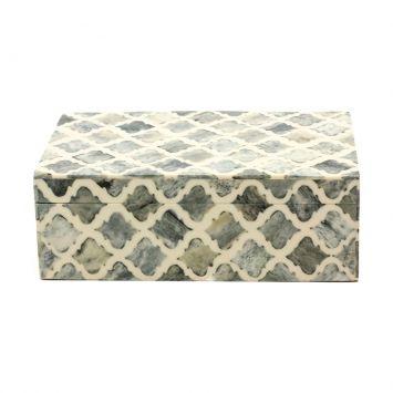 Caixa De Resina Antica Cod: AN778AC91PPSMOB