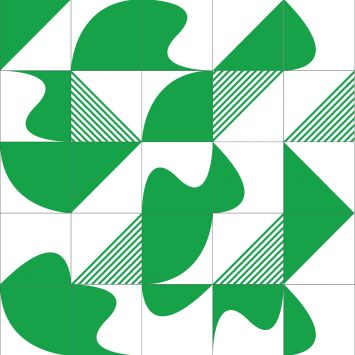 Revestimento Geladeira Mix Formas 1 Colorido 10x10 Cod: HA683AC91XRKMOB