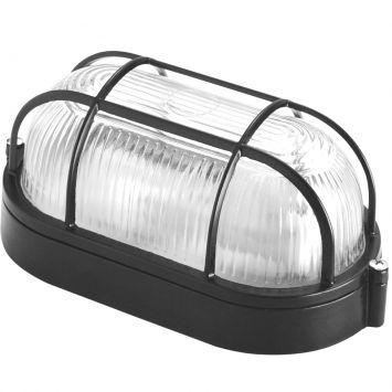 Luminaria tartaruga oval preta bivolt
